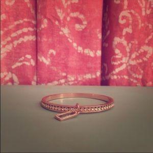 Like new rose gold coach bracelet.